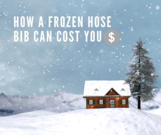 How a frozen hose bib can cost you